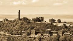 Calton Hill Edinburgh (Harry McGregor) Tags: edinburgh scotland caltonhill landscape buildings historic scenic sepia harrymcgregor nikon d3300 6 august 2018