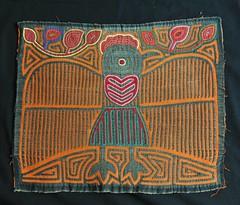 Chicken Mola Guna Panama Textiles (Teyacapan) Tags: textiles panama kuna cuna guna gallina chicken sewing bird pajaro