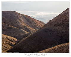 From Panamints To Death Valley (G Dan Mitchell) Tags: death valley national park panamint mountains range desert landscape nature california usa north america haze salt flats ridges summit