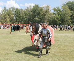 Finnish Suit of Armour (Cindy's Here) Tags: finnishsuitofarmour joust medievalfestival cookscreek manitoba canada canon 118 66 stainlesssteel