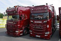 "Scania S NextGen & Scania R II Topline "" Joachim NISCH "" (D) (magicv8m) Tags: scania s nextgen streamline r topline joachimnisch d camion viehtransporte livestock geiselwind 2018"
