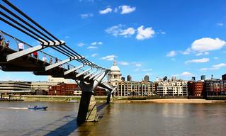 Millennium Bridge & St Paul's