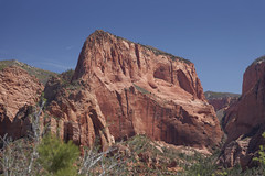 Kolob Canyon  8 (Largeguy1) Tags: approved kolob canyon blue sky red rock mountains canon 5d mark ii