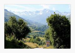 in the distance, Les Menuires (overthemoon) Tags: savoie france 3vallées stmartindebelleville stmarcel landscape countryside skiresort mountains alps frame lesmenuires snowcapped