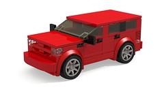 Dodge Nitro R/T (MOCs & Stuff) Tags: lego city town speed champions dodge nitro rt suv