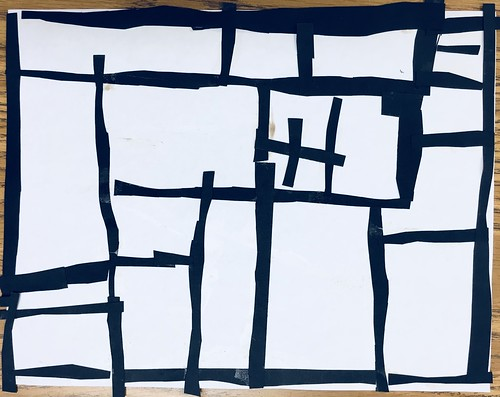 "Same #pietmondrian #kindergarten gridded #collage at its most simple elegance in black and white • <a style=""font-size:0.8em;"" href=""http://www.flickr.com/photos/57802765@N07/43896054721/"" target=""_blank"">View on Flickr</a>"