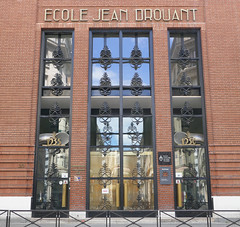 École Jean Drouant - Paris, 17th arr (Monceau) Tags: écolejeandrouant school paris 17tharr artdeco