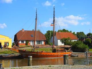schöne Boote in Tönning
