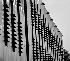 Louvers B&W (PangolinOne) Tags: architecture blackburn canonef24105mmf4lisusm canoneos6d england lancashire outdoors places uk ef24105mmf4lisusm