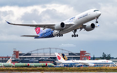 Airbus A350 China Airlines B-18918 (French_Painter) Tags: airbus a350 china airlines b18918 fwzfu