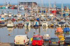 Bridlington, East Yorkshire 2018 (SteveH1972) Tags: bridlington bridlingtonharbour harbour brid eastyorkshire yorkshire england northernengland britain boats boat 2018 summer europe outside outdoor outdoors water mast masts canon700d 700d canon canon70200 70200 nonis