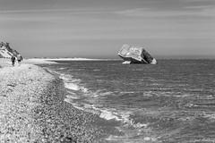 Surgi des eaux et du passé (fred ettendorff) Tags: landscape lehourdel maritimes mer noiretblanc paysages photosderue sortiemer cayeuxsurmer hautsdefrance france