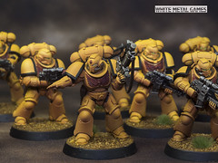 imperial Fists Primaris Intercessors (whitemetalgames.com) Tags: primaris intercessors imperial fists warhammer40k warhammer 40k warhammer40000 40000 paintingwarhammer gamesworkshop games workshop citadel whitemetalgames wmg white metal painting painted paint commission commissions service services svc raleighlaughter knightdale knight dale north carolina nc hobby hobbyist hobbies mini miniature minis miniatures tabletop rpg roleplayinggame rng warmongers space marines