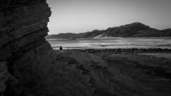 Alone (Isai Hernandez) Tags: alone soledad blackandwhite blancoynegro beach behind valley photography nikon 35mm photoshooting naturephotography beauty