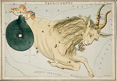 Sidney Hall's (1831) astronomical chart illustration of the zodiac Capricornus. Original from Library of Congress. Digitally enhanced by rawpixel. (Free Public Domain Illustrations by rawpixel) Tags: aerostatique antique art arts astrological astronomy book camelopardalis capricorn capricornus celestial chart constellations drawing fish fishtail hall handcolored illustrated illustration locimage magical map mermaid mythological name old paints sidney sidneyhall sketch stars vintage woman zodiac