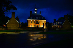Governor's Palace at night - Colonial Williamsburg VA (mbell1975) Tags: williamsburg virginia unitedstates us governors palace night colonial va usa america evening govenor house building
