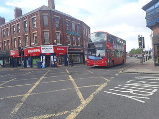 Go north east red bus 6116