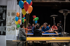 2018.08.13 Play Party - Art Olfaction Amsterdam ends with a Bang! (FotoMediamatic) Tags: mediamatic play party event game scent smelly smell olfactory quiz show barn dj