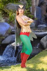 Hawkgirl Cosplay by Amber (Manny Llanura) Tags: hawkgirl cosplay cosplayer amber dc comics san diego comic con 2018 manny llanura photography