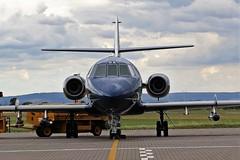 G-FFRA COBHAM DASSAULT FALCON 20 TEESSIDE (toowoomba surfer) Tags: aircraft aviation aeroplane jet