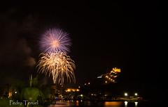 fuegos artificiales en Águilas (pedrojateruel) Tags: fuegos artificiales águilas murcia castillo