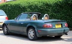 J953 RTA (Nivek.Old.Gold) Tags: 1991 eunos roadster vspecial 1590cc mazda mx5 gmocars penzance