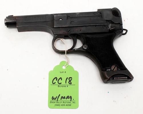 Japanese 32 Cal. Pistol w/ Magazine #51222 ($448.00)