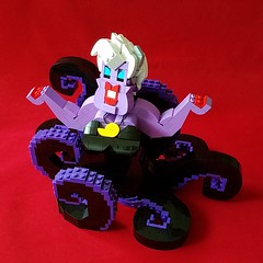 Poor unfortunate soul (retinence) Tags: lego moc disney queen ursula character octopus little mermaid