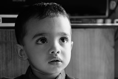 Little Star (Rahul Gaywala) Tags: rakshabandhan2018 manveer somani little kid big eyes innocent monochrome portrait