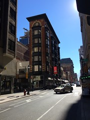 lovely narrow building (olive witch) Tags: 2017 abeerhoque arch building day feb17 february outdoors philadelphia philly street urban