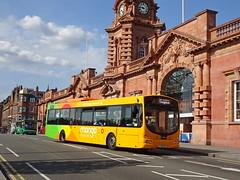 trent barton 735 Nottingham (Guy Arab UF) Tags: trent barton 735 fx09bxp volvo b7rle wright eclipse bus nottingham station nottinghamshire wellglade buses wellgladegroup