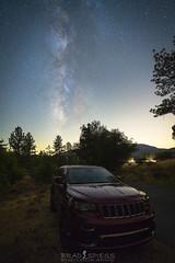 My adventure automobile (ihikesandiego) Tags: cuyamaca mountains san diego milky way night sky jeep