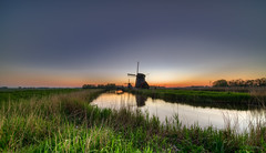 Dutch mills at Dusk near Rustenburg, The Netherlands. (Alex-de-Haas) Tags: 11mm adobe blackstone d850 dutch hdr holland irix irix11mm lightroom nederland nederlands netherlands nikon nikond850 noordholland photomatix photomatixpro beautiful beauty drama dramatic landscape landschaft landschap lente lucht mill molen mooi nature natuur orange oranje polder skies sky skyscape spectaculair spectacular spring sun sundown sunset warm windmill windmolen zonsondergang