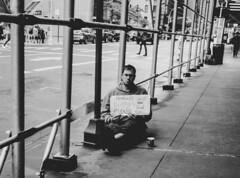 Homeless Hungry - D7K_2392_epgs (Eric.Parker) Tags: newyork nyc ny bigapple usa manhattan 2017 bw