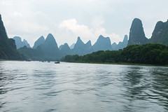 Yangshuo River Boating Landscape Overcast Travel (HunterBliss) Tags: ancient asia asian beautiful china chinese clouds cloudy countryside county day destination dusk famous forest green guangxi guilin hill hills karst landmark landscape li lijiang limestone morning mountain mountains natural nature outdoor outdoors place river rural scene scenery scenic sunrise sunset tourism town travel valley view village water xingping yangshuo