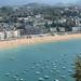 Concha Bay and Beach of San Sebastián, Spain