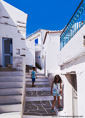 Kids at street (mare_maris (very slow)) Tags: blue white greece whitewalls bluedoors island narrowalley paved children kids street typical traditional vilage city tourism driopida kythnos aegean architecture colorful cozi cyclades boy girl running playing destinations dome door europe house mediterranean narrow outside scenics summer town travel vacations sky bleu blanc traditionnel grec île ruelleétroite pavé enfants marches blau weis traditionell griechisch insel engegasse gepflastert kinder schritte blu bianco tradizionale greco isola vicolostretto pavimentato bambini gradini nikon maremaris παιδιά
