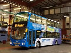 First Huddersfield Connect YJ06 XKU ( 37029 ) (munden.chris) Tags: first huddersfield hd connect 37029 volvo wright bus hunsletpark yj06xku