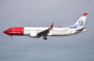 EI-FYE B737-8 MAX Norwegian
