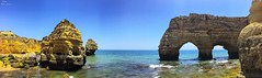Praia da marinha (Peideluo) Tags: sea sky serenidad roca rocks nature naturaleza mar cielo panoramica oceano océano agua paisaje landscape landscapewater