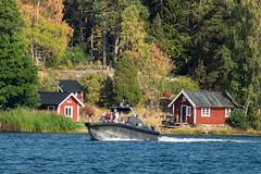 Auf Ornö - Haus und Boot (KL57Foto) Tags: 2018 juli july kl57foto omdem1 olympus schweden sommer summer sverige sweden schären schäreninsel schärengarten ornö archipelago