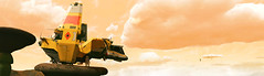 (D U B L) Tags: nms nomanssky scifi hello games video no mans sky havoc space panorama game pc computer graphics outdoor dof photomode gaming photography nvidia gpu 15 next landscape grass hauler anomaly helmet clouds rock birds ship craft