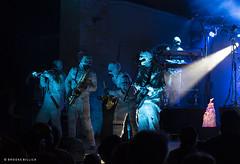Here Come the Mummies! (mobybick2) Tags: artistsandbands cedarburgsummersounds events herecomethemummies musicgenres funkadelic places wisconsin cedarburg cedarburgparkbandshell venues 2018 bassguitar saxophone trumpet