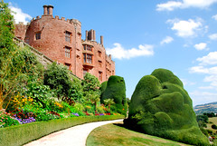 POWIS CASTLE TOP TERRACE. (tommypatto : ~ IMAGINE. Removing non commenting co) Tags: nationaltrust wales northwales powiscastle