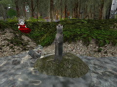 Otters! (Teal Freenote) Tags: tealfreenote wolfhartnell tiny tinies sl virtualworld
