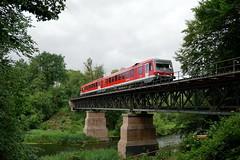 P1620135 (Lumixfan68) Tags: eisenbahn züge triebwagen baureihe 628 dieseltriebwagen deutsche bahn db regio