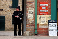 'Living History' (andrew_@oxford) Tags: beamish open air museum north england reenactors reenactment 1900s town 1950s
