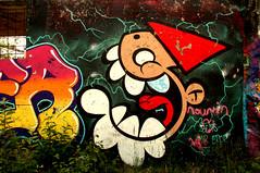 graffiti in Utrecht (wojofoto) Tags: utrecht nederland netherland holland graffiti streetart grindbak hof halloffame legalwall wojofoto wolfgangjosten kbtr utrechtsekabouter deutrechtsekabouter