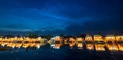 Dusk descends at Dal Lake, Srinagar, Kashmir (Shakyasom Majumder) Tags: lake hills water watersurface lights sky dusk twilight civiltwilight reflection clouds blue boats houseboat nikon nikond500 tamron tamron1024vchld srinagar dallake kashmirvalley kashmir jammuandkashmir incredibleindia jktourism india