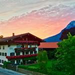 Sunrise over Kiefersfelden and Kaiser mountains in Bavaria, Germany thumbnail